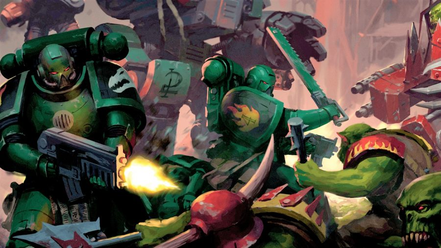 Space Marine Adventures Rise of the Orks review main image