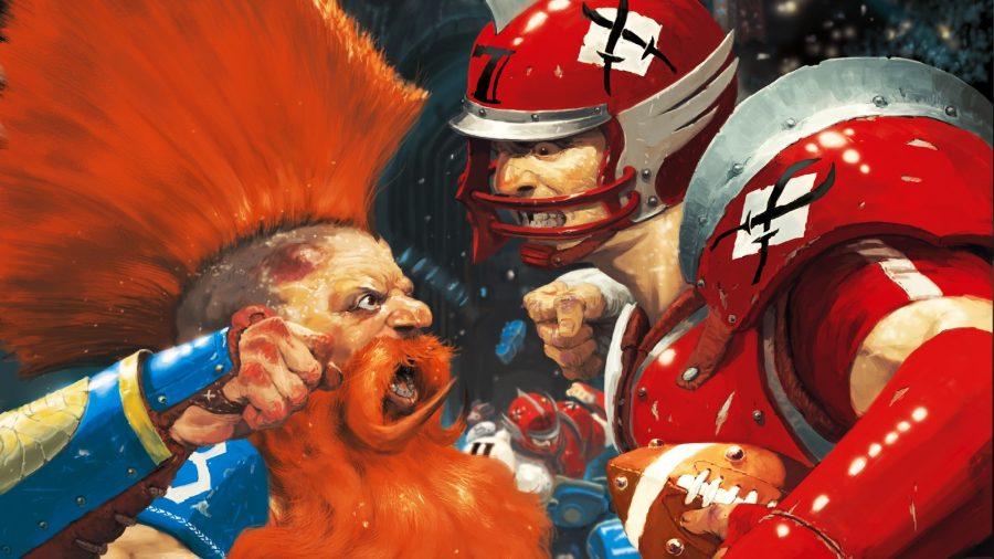 Blitz Bowl Season 2 Review dwarf vs. human