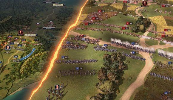 Ultimate General American Revolution Concept screenshot