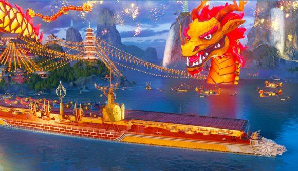 Dragon Port Lunar New Year