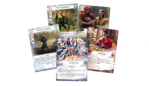 Legend of the five rings dynasty pack cards