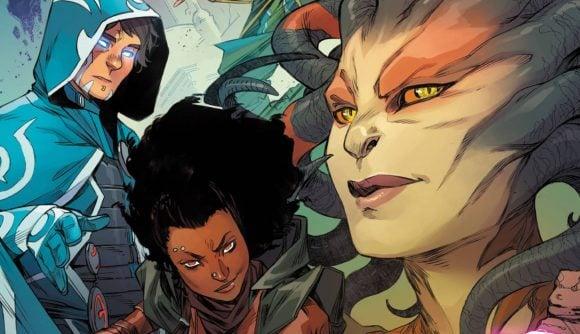 Magic the gathering comic book april