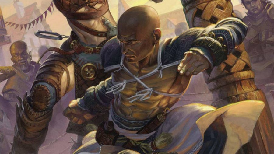 Pathfinder classes guide monk