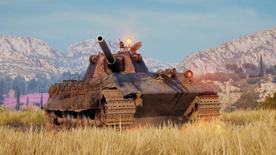 World of tanks mods big tank