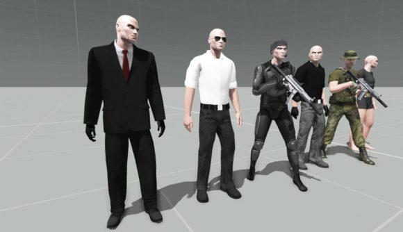 arm 3 mod Max Hitman adds six version of Agent 47