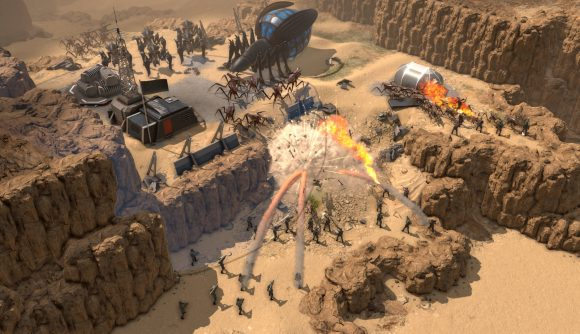 Starship trooers terran command screenshot