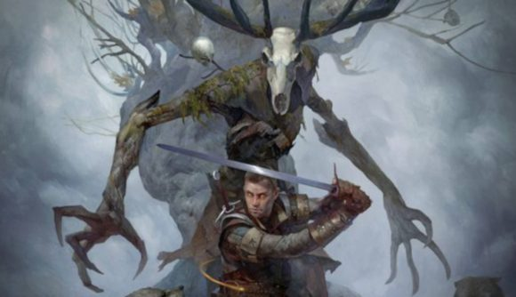 Monster and Witcher from The Witcher Old World reveal