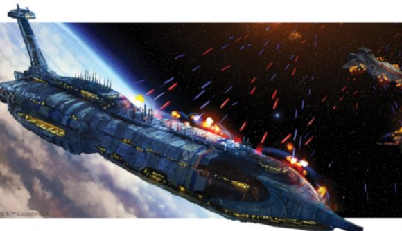 Frigate from Star Wars Armada announcement