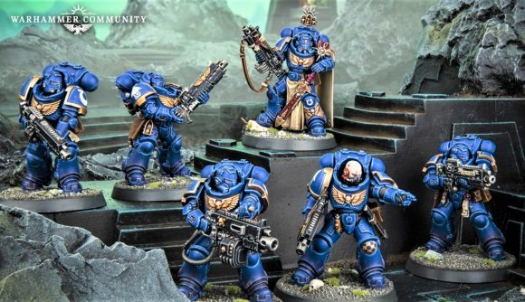 Warhammer 40K Heavy intercessor models photo from Warhammer Community