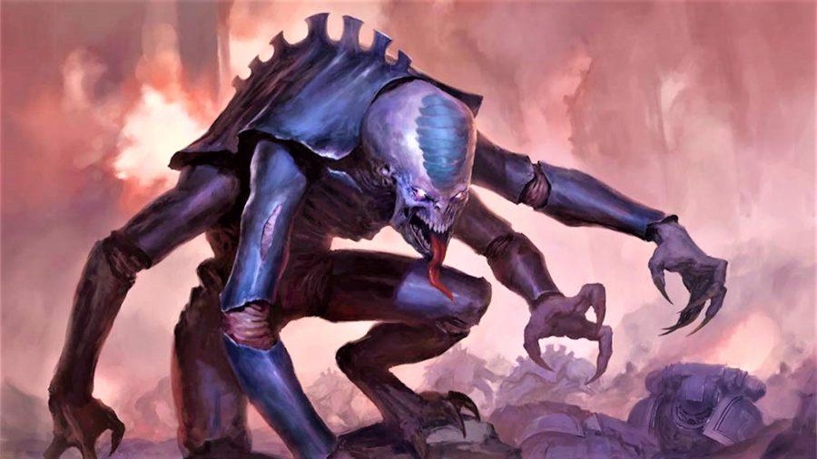 Warhammer 40K Xenos factions guide tyranids genestealer artwork