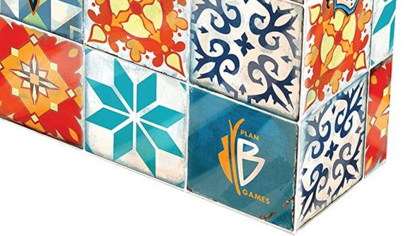 Photo of the box art for Azul board game by Plan B Games