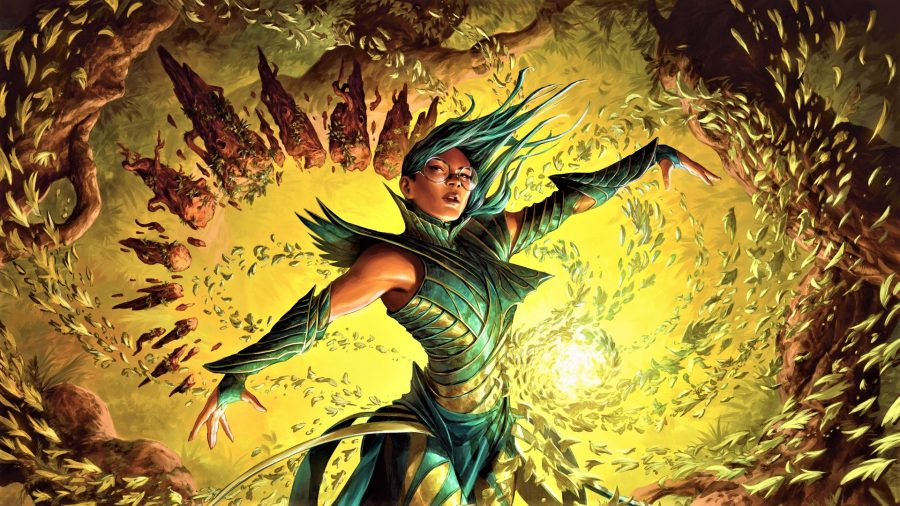 Magic the Gathering artwork from Dragonguard Elite in Strixhaven
