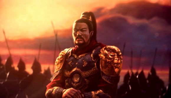 Artwork of an armoured general in Europa Universalis 4 update trailer