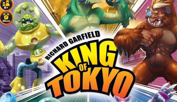 King of Tokyo board game original box packshot