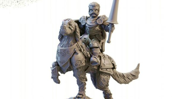 Halfling captain from Kings of War