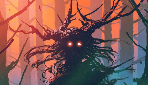 A forest monster from D&D 5E sourcebook Into Wonderland: A Feywild Setting Book