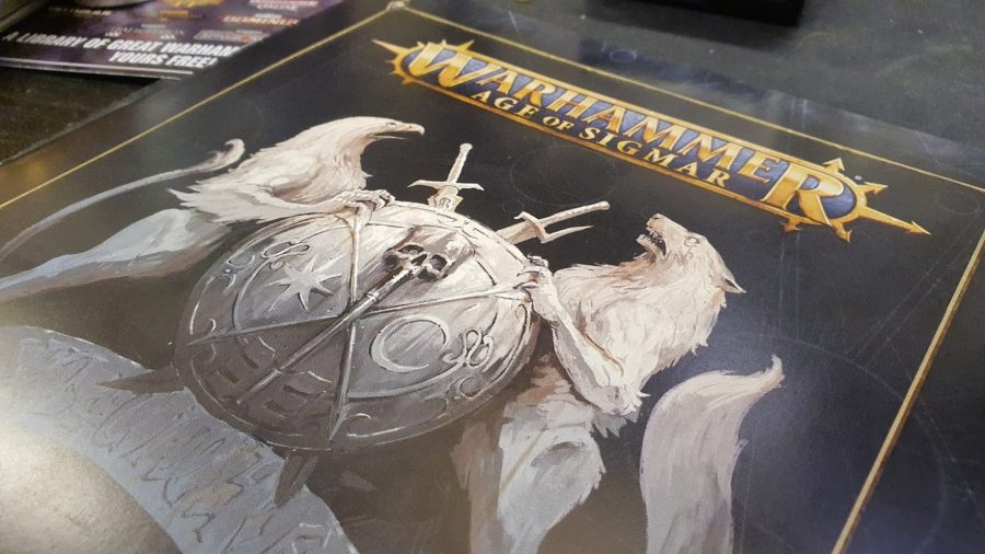 Warhammer Quest Cursed City rules booklet photo