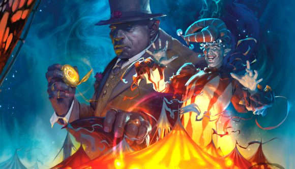 A jester and ringmaster in dnd book The Wild Beyond The Witchlight