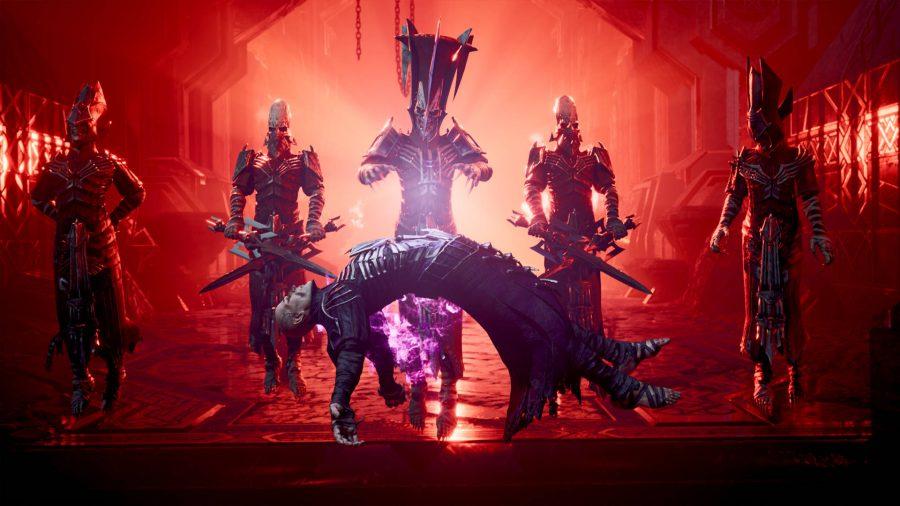 Dungeons and Dragons Dark Alliance cutscene