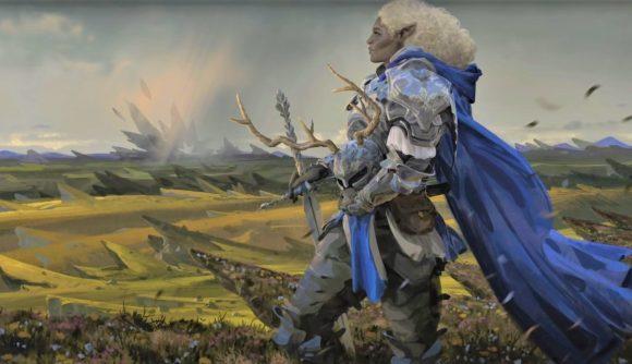 Magic the Gathering Adventures in the Forgotten Realms Commander Decks commander artwork for Galea