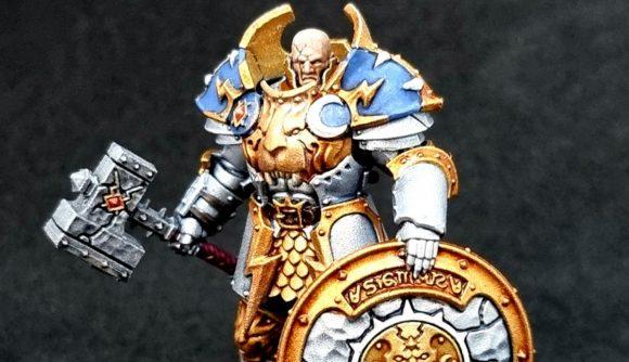 Age of Sigmar Dominion paint schemes Stormcast Eternal Annihilator
