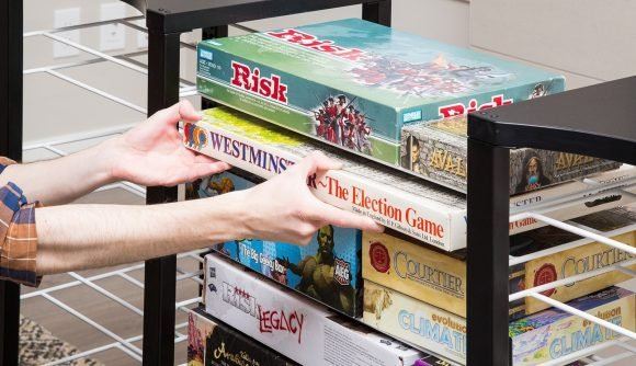 Board game storage: clever ways to organise and store your board games