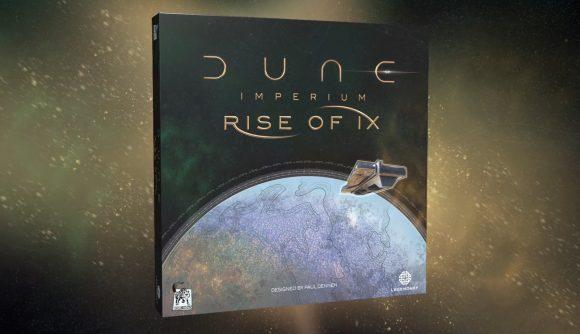 Dune: Imperium Rise of Ix box cover art