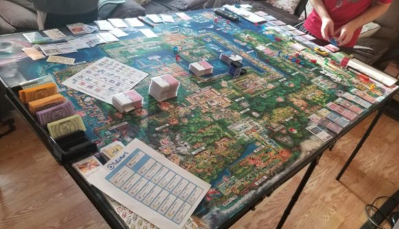 Pokemon board game tabletop