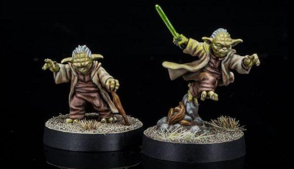 Star Wars Legion Yoda miniature