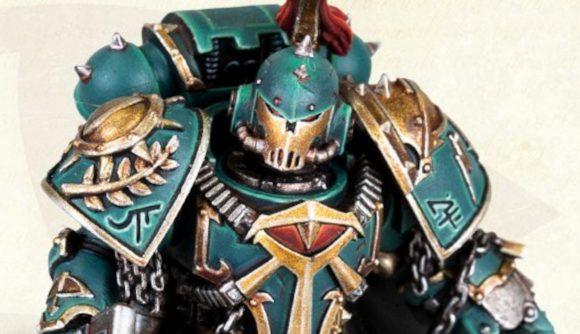 Warhammer 40k Horus Heresy Sons of Horus Praetor miniature