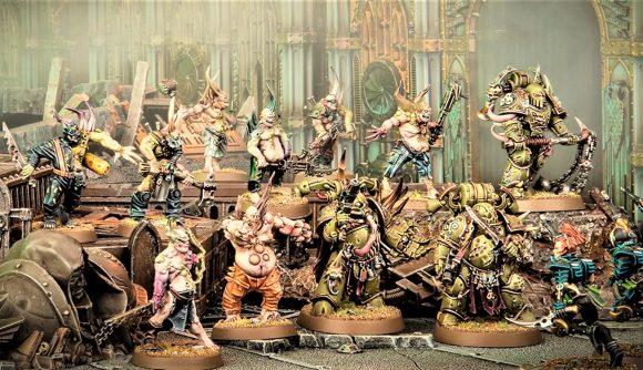Warhammer 40k: Kill Team Octarius 2nd Edition points news warhammer community photo showind Death Guard Plague Marines and Poxwalkers