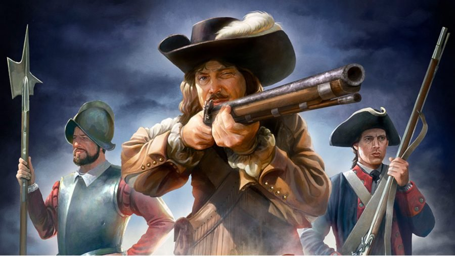 Europa Universalis 5 release date three soldiers holding weapons