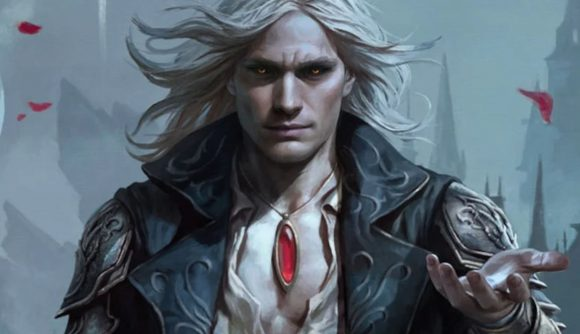 Magic: The Gathering Innistrad: Crimson Vow a vampire holding out his hand