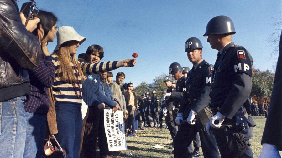 ttrpg 1960s counterculture anti-Vietnam war protestor