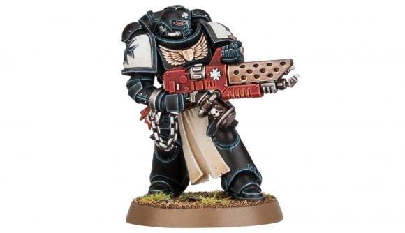 Warhammer 40k Space Marines Black Templars Primaris Initiate Warhammer Community photo of the new Primaris Initiate model
