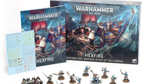 Warhammer 40k Hexfire battlebox Grey Knights codex