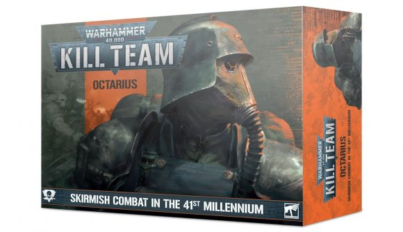 Warhammer 40k Kill Team: Octarius pre-order box showing Death Korps of Krieg