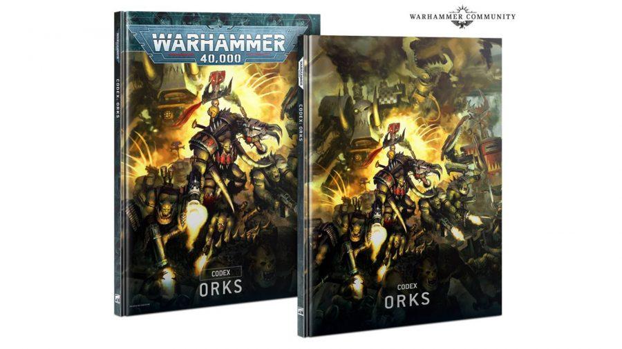 Warhammer 40k Codex release dates Orks codex cover