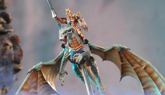 Age of Sigmar Stormcast Eternals dragons stormdrake guard