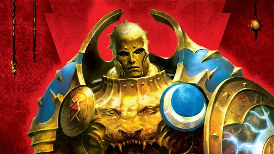 Warhammer Age of Sigmar Stormcast Eternals Lore and Tactics Warhammer Community artwork showing a Stormcast Eternals Annihilator