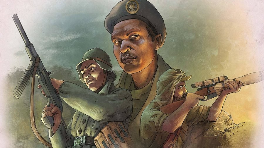 Undaunted: Reinforcements preview interview artwork showing three WW2 soldiers