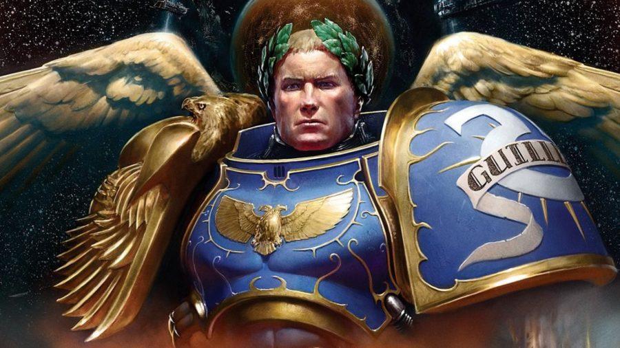 Warhammer 40k Space Marines guide - Warhammer Community artwork showing Roboute Guilliman, Ultramarines Primarch