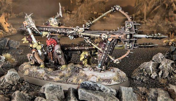 Warhammer Age of Sigmar Kruleboyz Beast-skewer Killbow can one-shot Yndrasta - Warhammer Community photo showing the Beast-skewer Killbow model