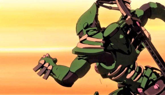 Warhammer Plus Hammer and Bolter new trailer - Warhammer Community screenshot image from hammer and bolter, showing an Eldar Striking Scorpion